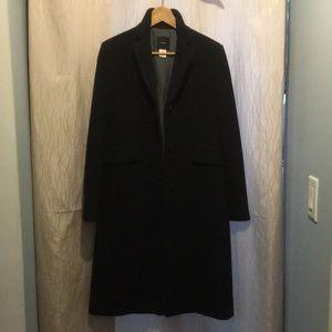 Women's J Crew long wool coat